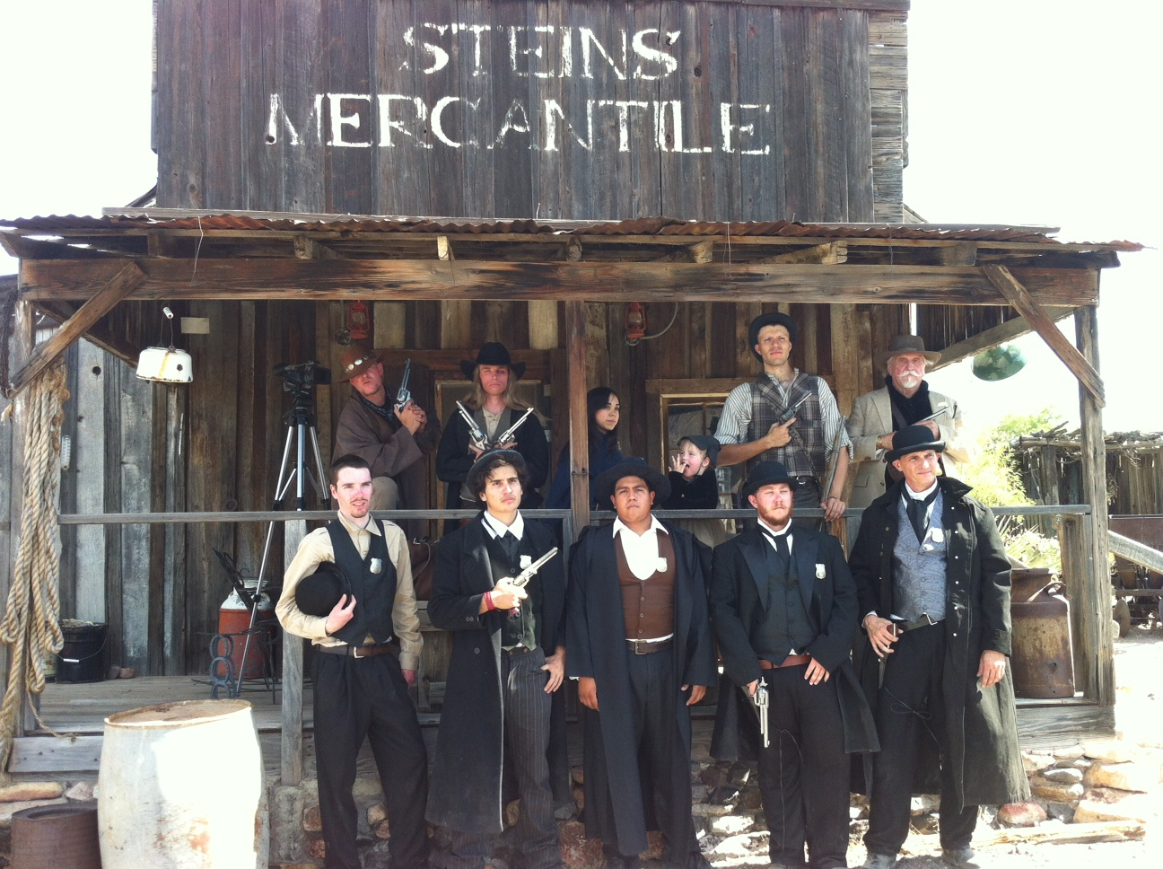 Serious Cast  Pic from a Towne Films Movie June 23rd 2012